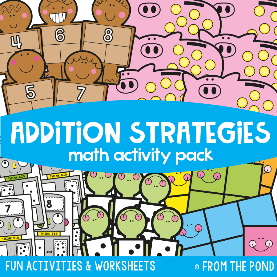Math Pack 11 - Addition Strategies