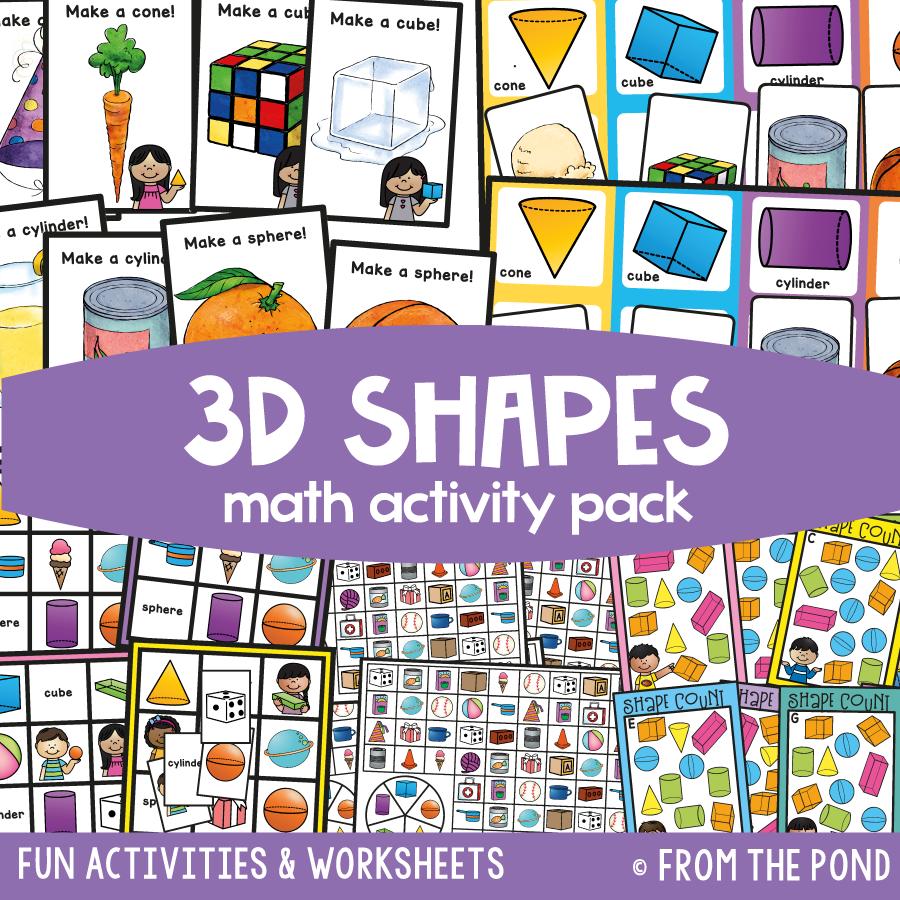Math Pack 12 - 3D Shapes