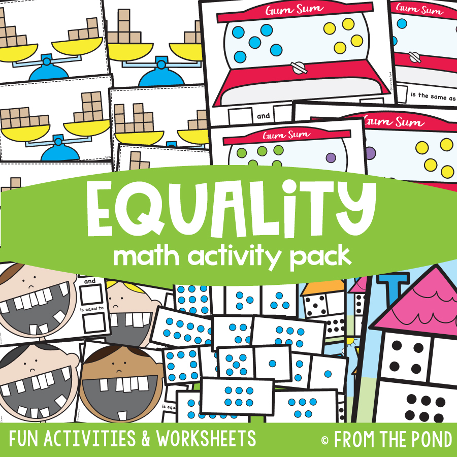 Math Pack 15 - Equality