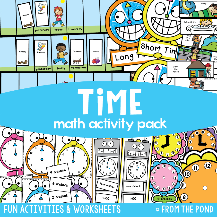 Math Pack 16 - Time to the Hour