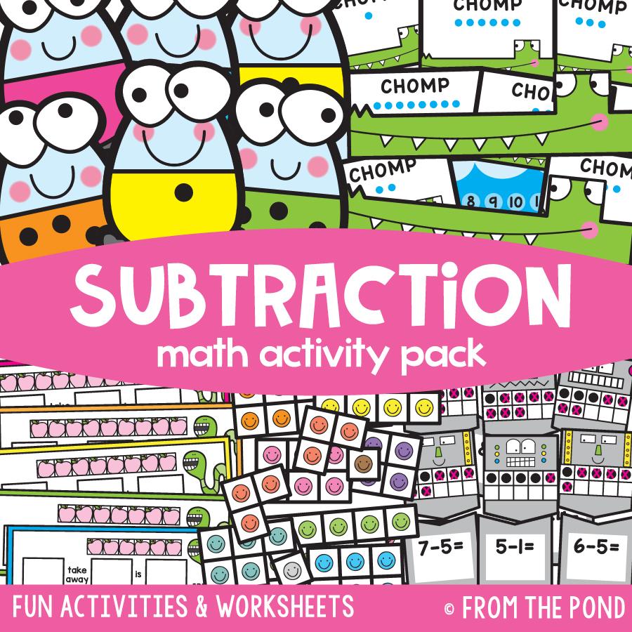 Math Pack 18 - Subtraction