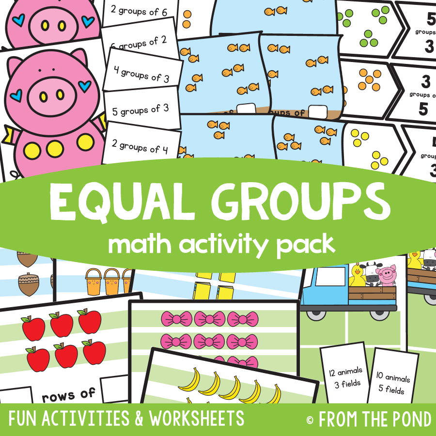 Math Pack 20 - Equal Groups
