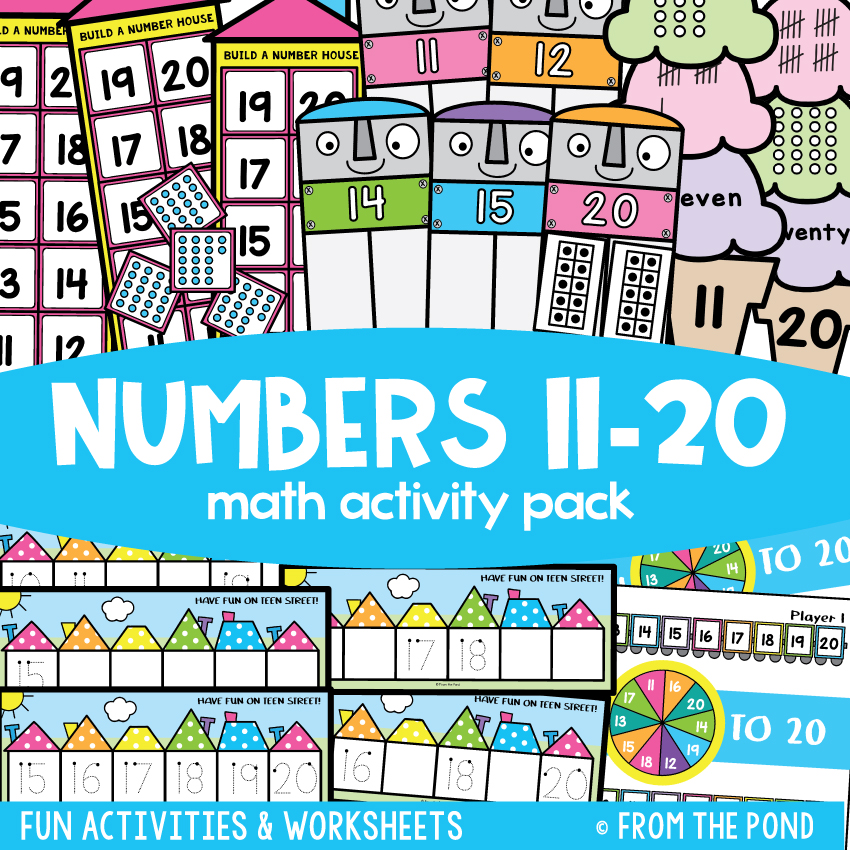 Math Pack 21 - Numbers 11-20
