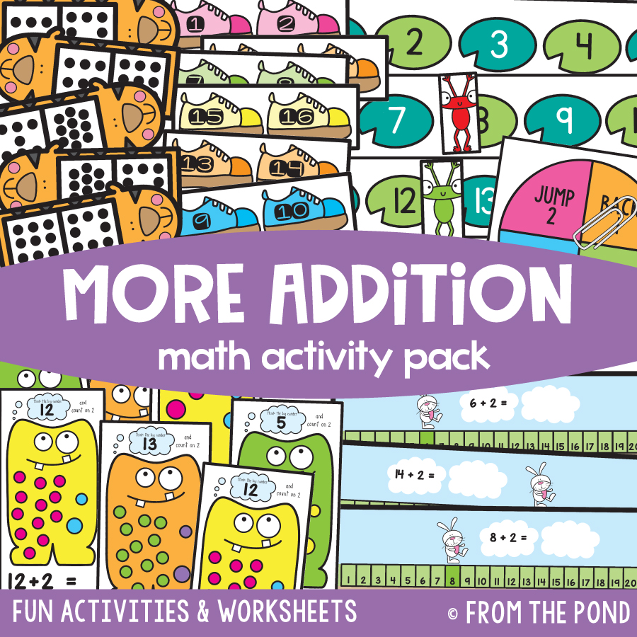 Math Pack 22 - More Addition Strategies