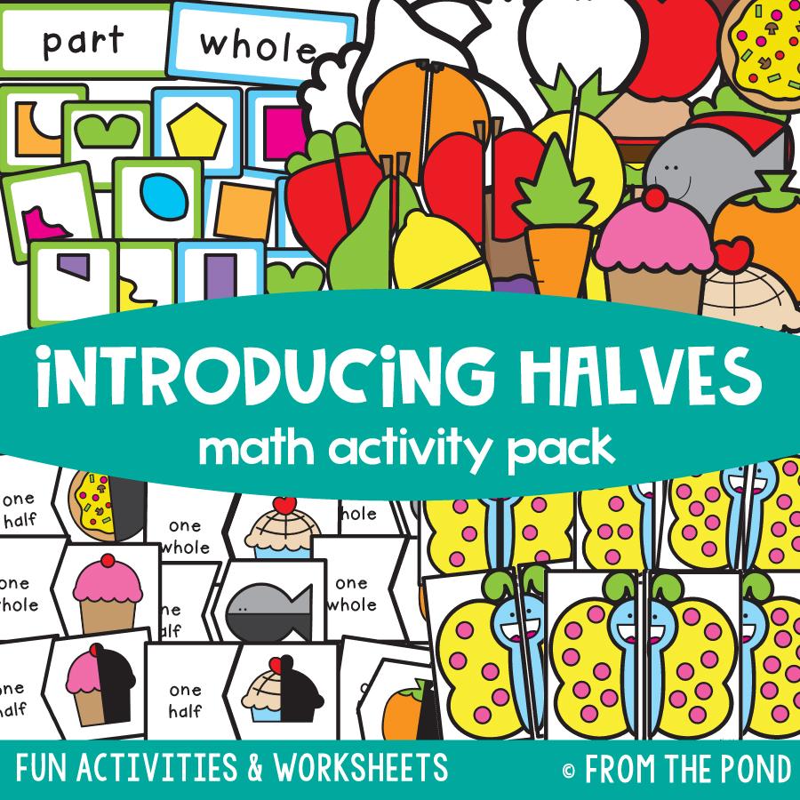 Math Pack 23 - Introducing Halves