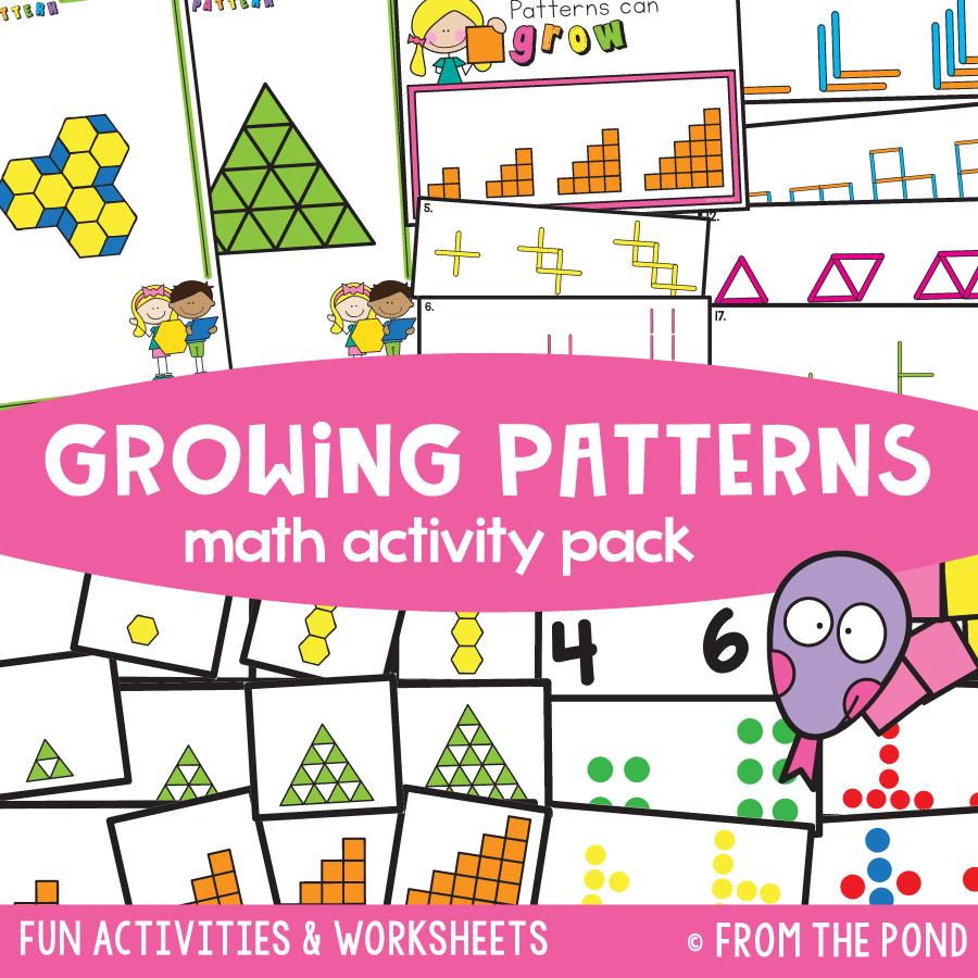Math Pack 24 - Growing (Additive) Patterns