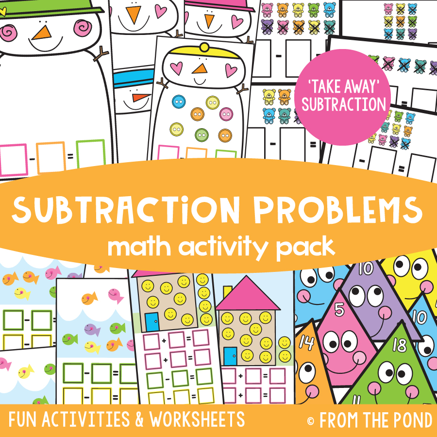 Math Pack 30 - Subtraction Problems