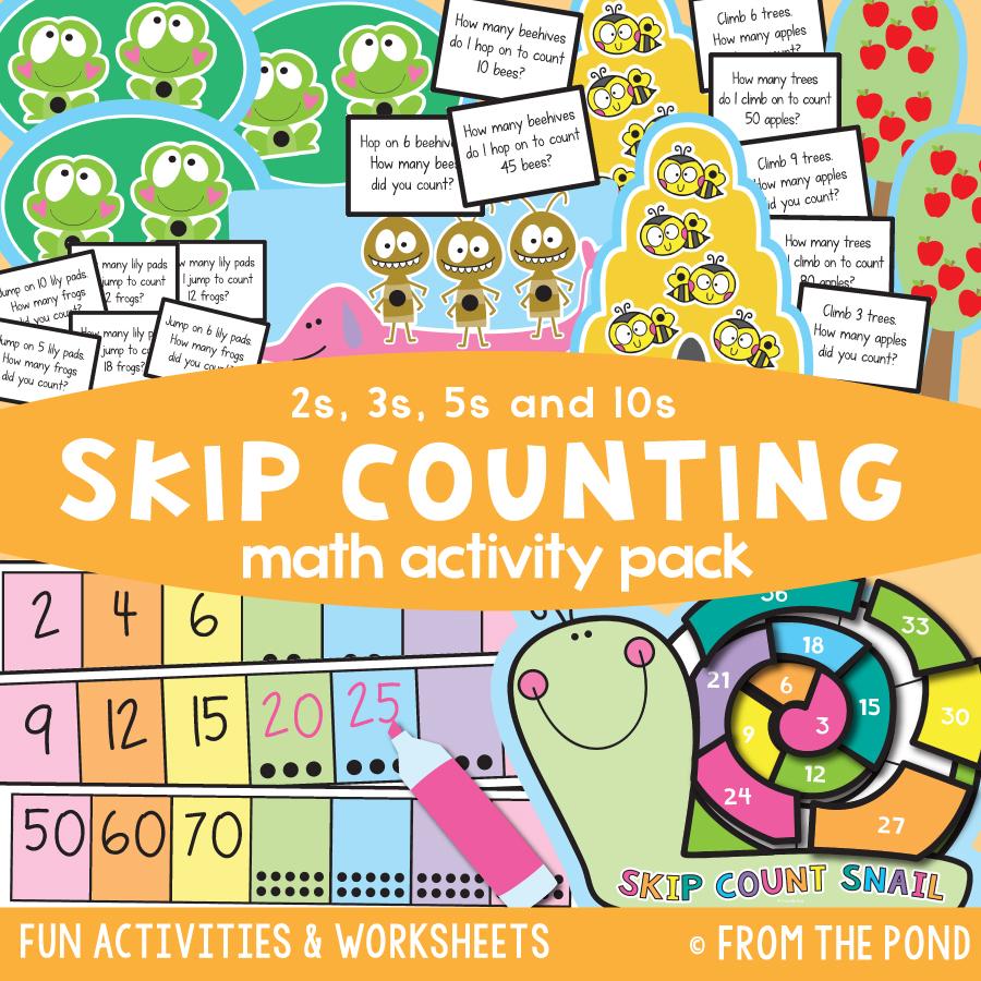 Math Pack 35 - Skip Counting