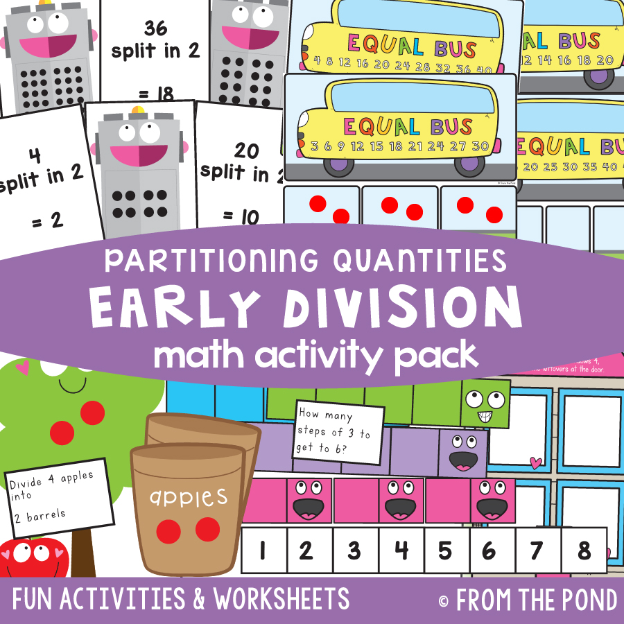 Math Pack 38 - Early Division