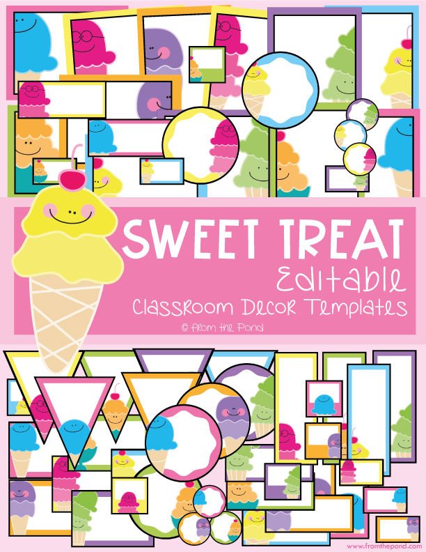 Sweet Treat Classroom Decor