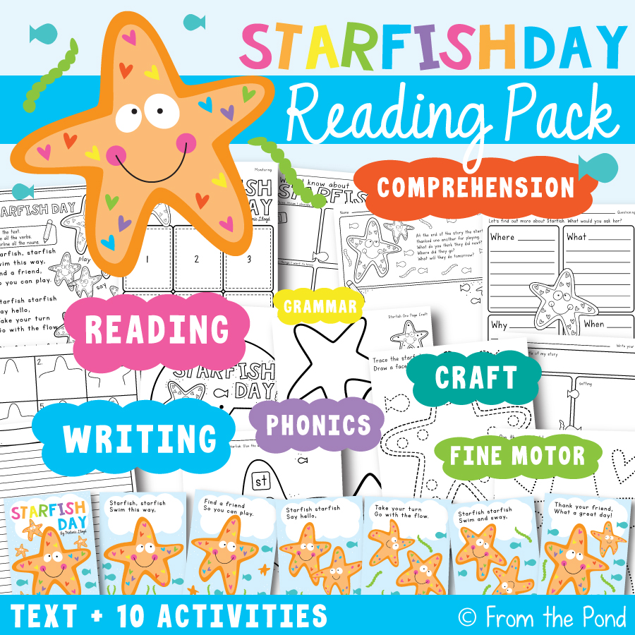 Starfish Day Reading Pack