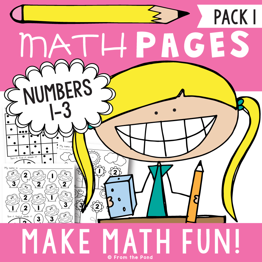 Math Pages Pack 1