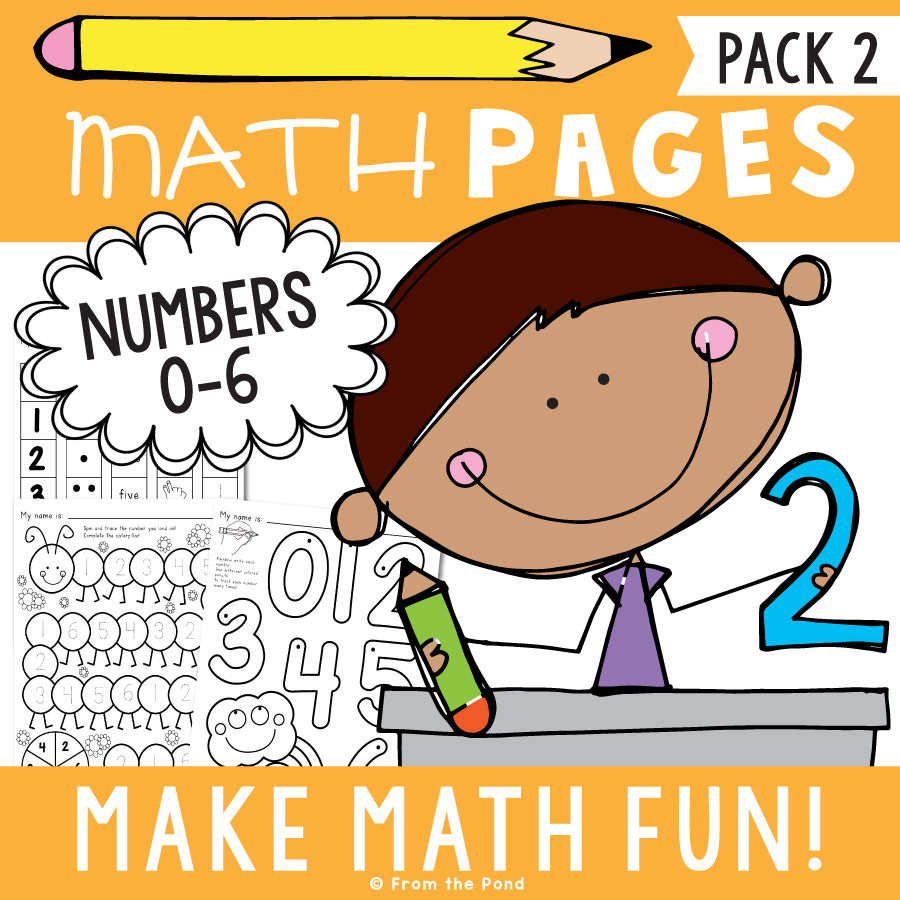 Math Pages Pack 2