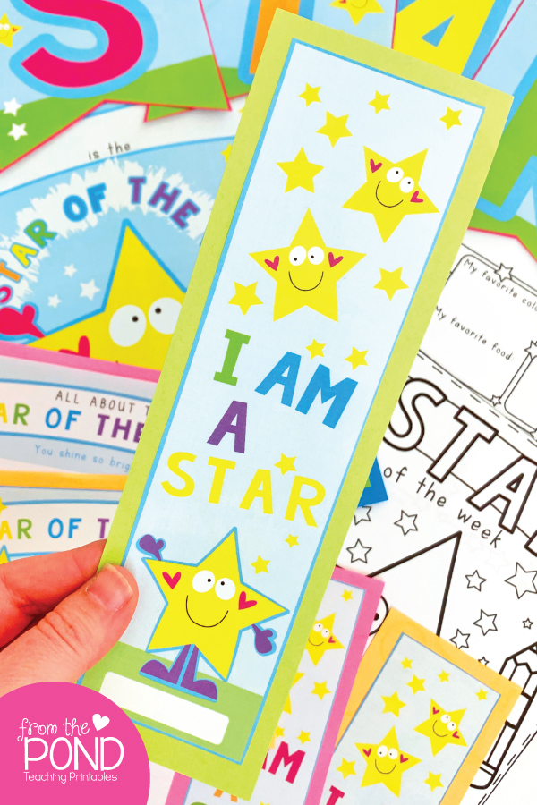 Star of the Week Bookmark