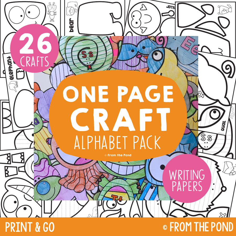 Alphabet Pack - One Page Crafts