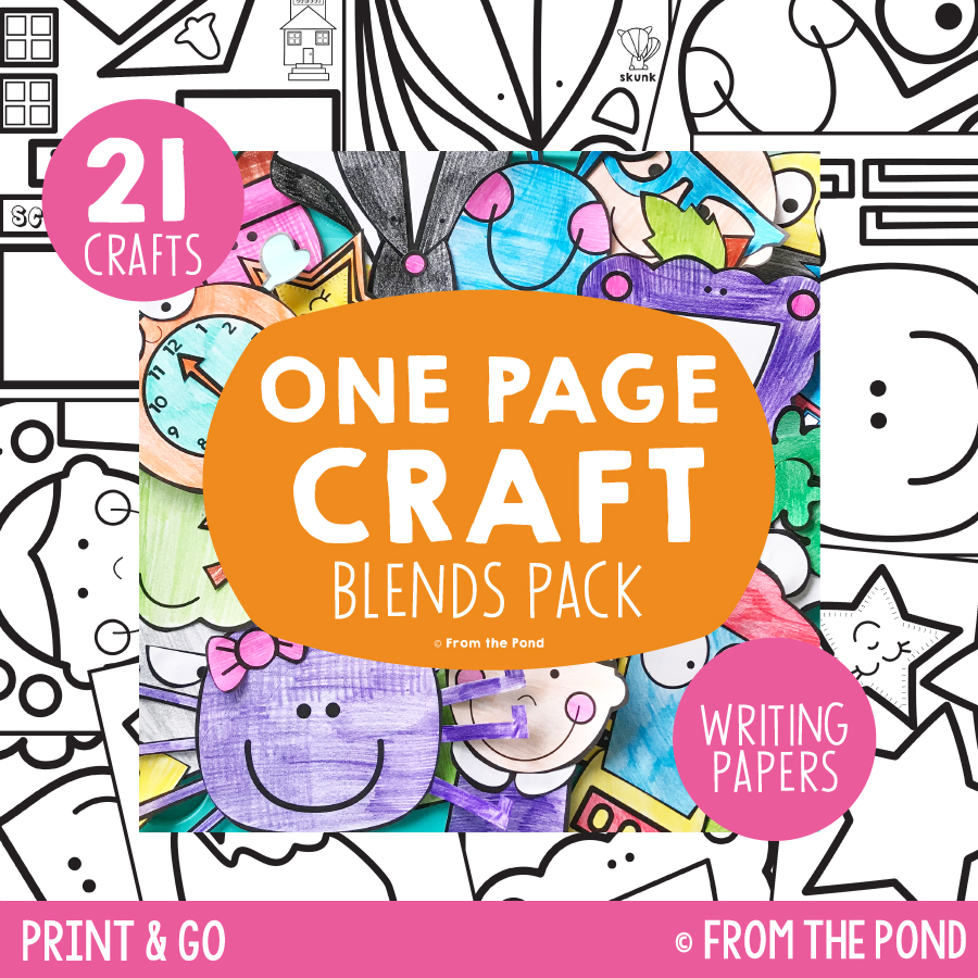 Blends Pack - One Page Crafts