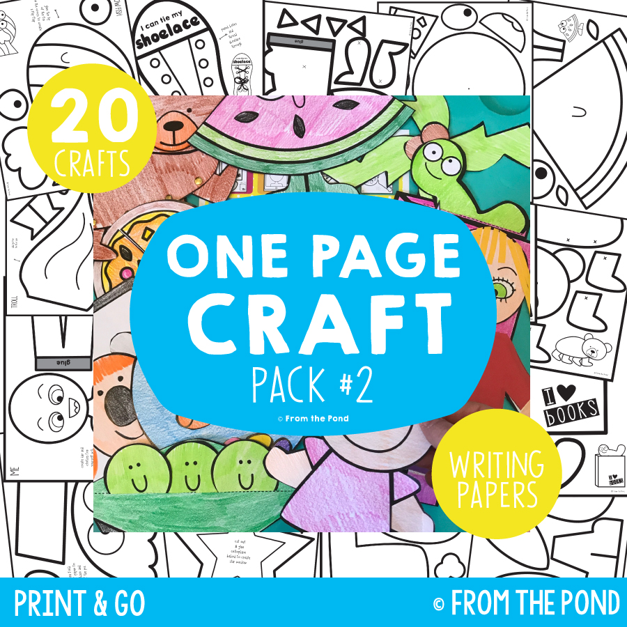 Pack 2 - One Page Crafts