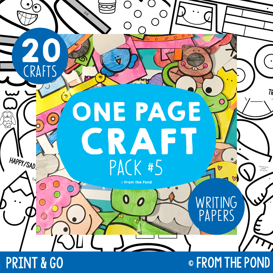 Pack 5 - One Page Crafts