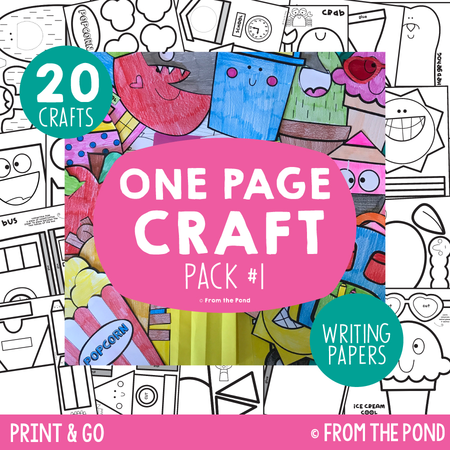 Pack 1 - One Page Crafts