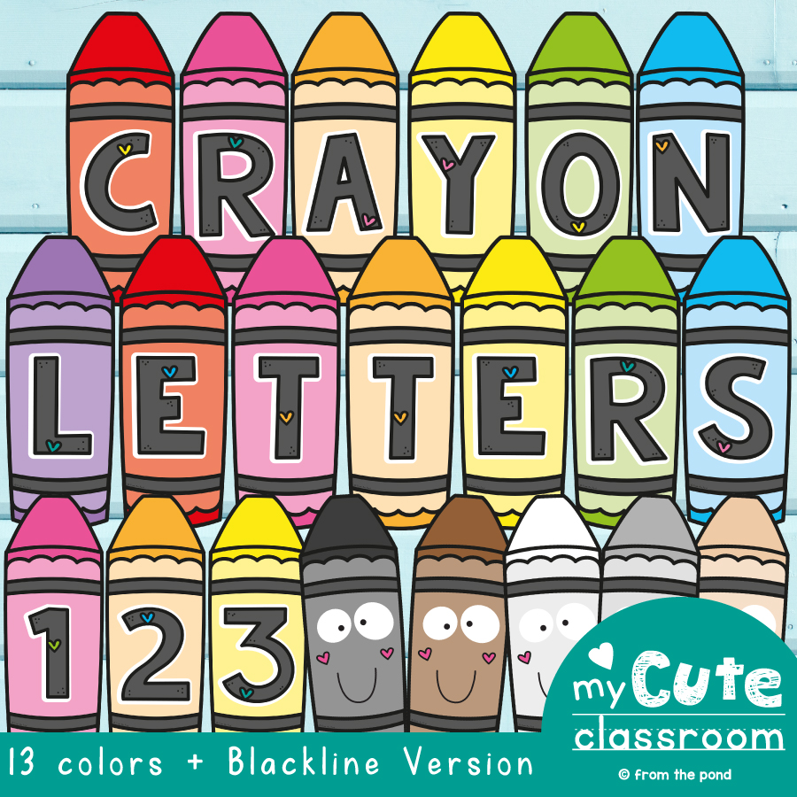 Crayon Letters