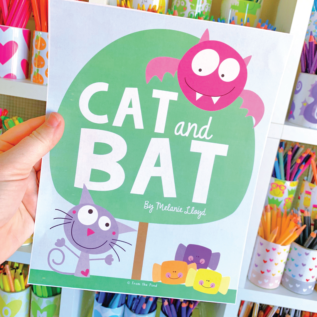 Cat and Bat Reading Pack