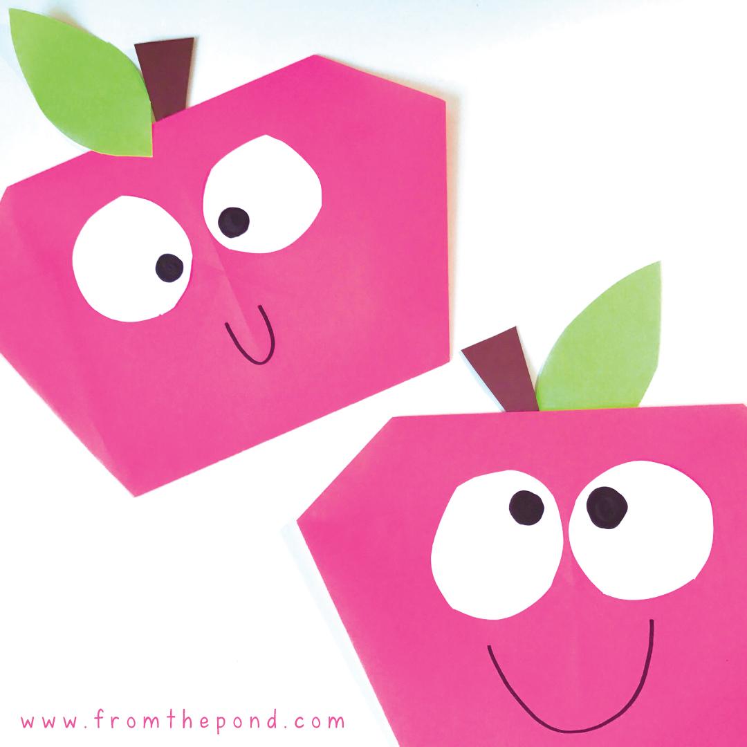 Easy Apple Craft