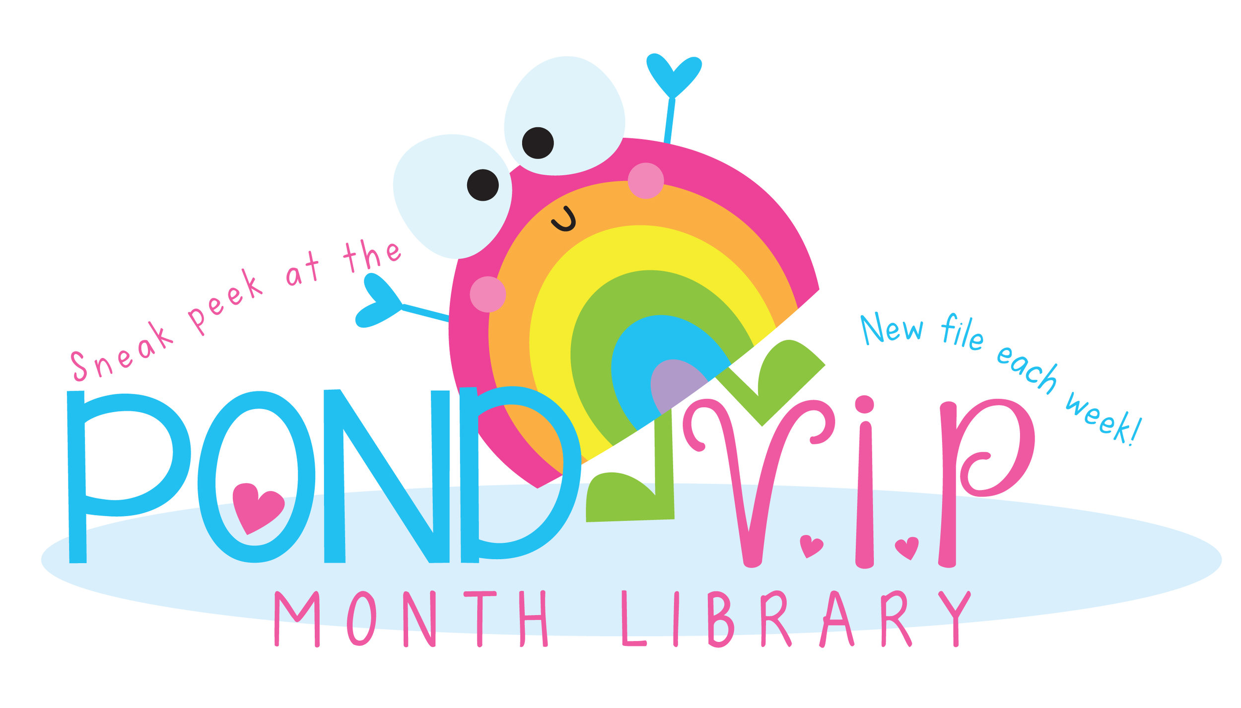 Here is a peek at the current VIP Month Library. You also get access to an exclusive and bonus library too!
