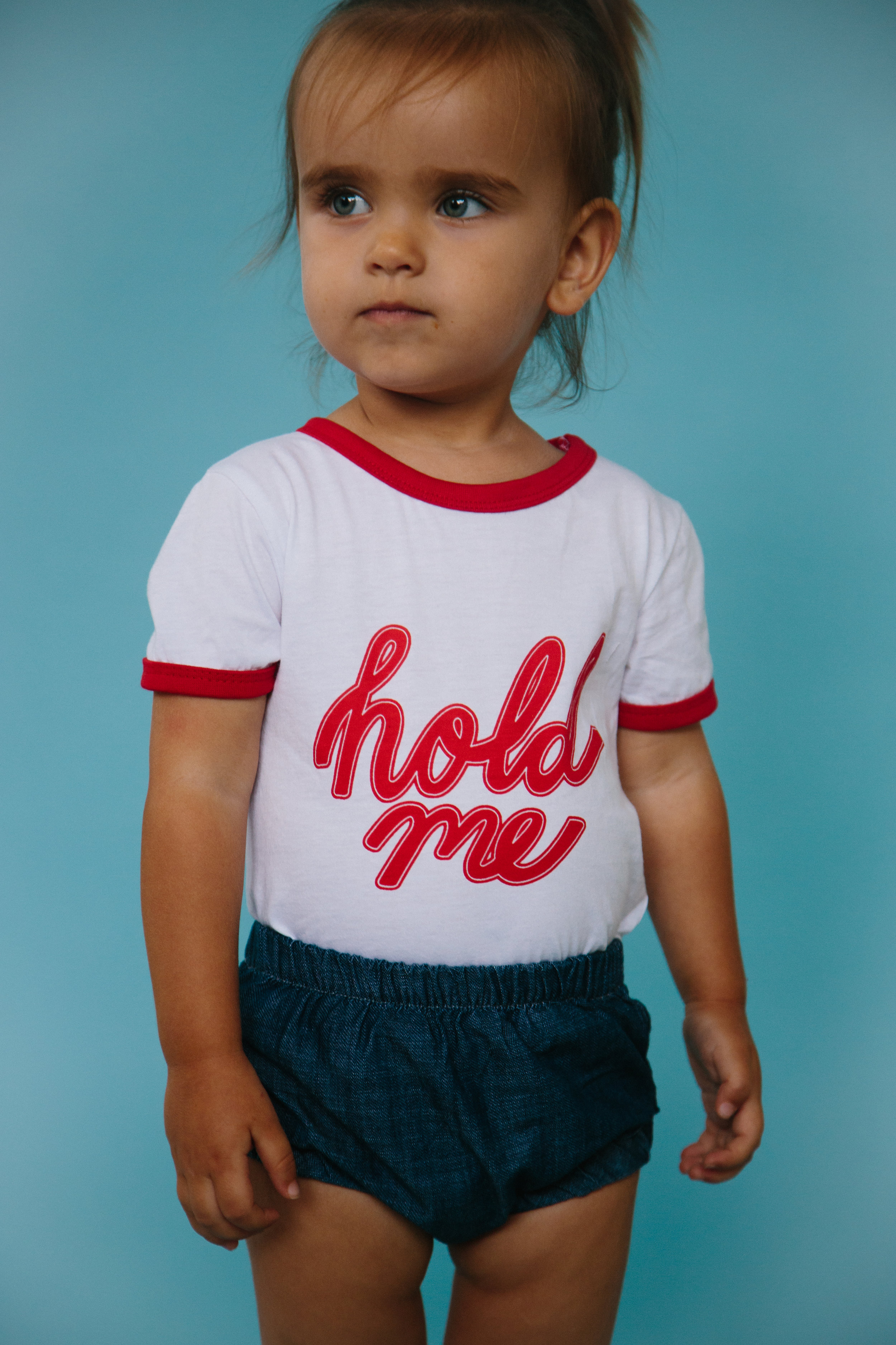 Hold Me T-shirts - A crowd favorite at Renegade Craft, the Hold Me T-shirt is a staple for any cool kid's wardrobe.