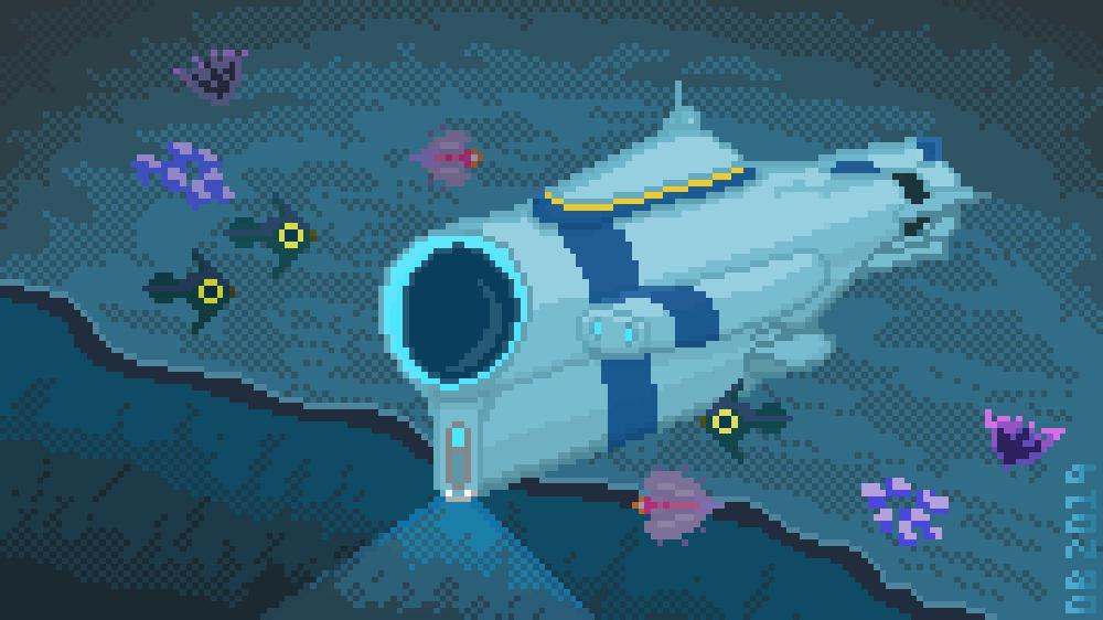 Subnautica Pixel Art