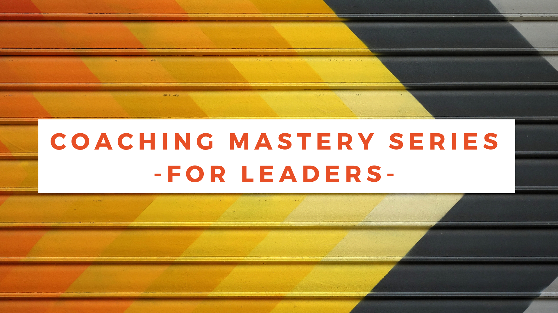 ManagersWho Coach - Coaching Mastery Program for Leaders