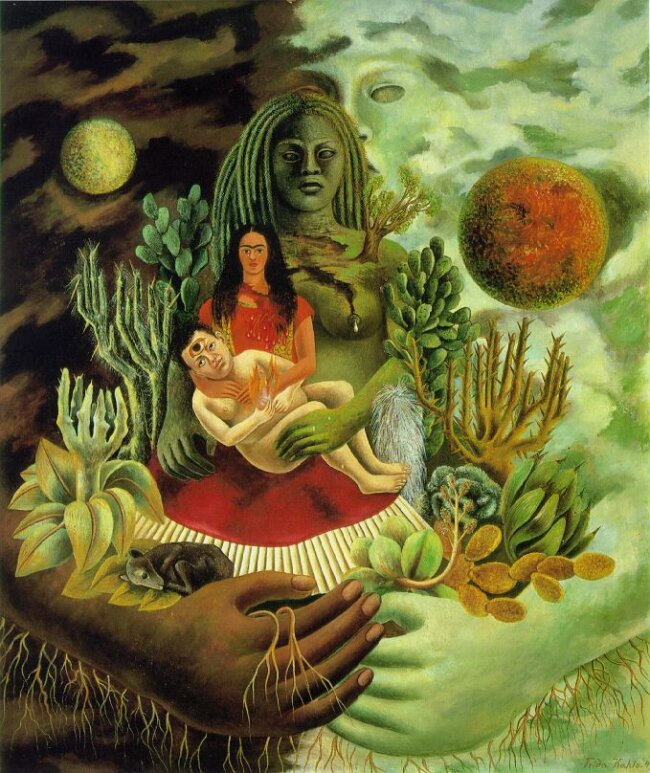 The Love Embrace of the Universe, the Earth (Mexico), Myself, Diego, and Señor Xolotl