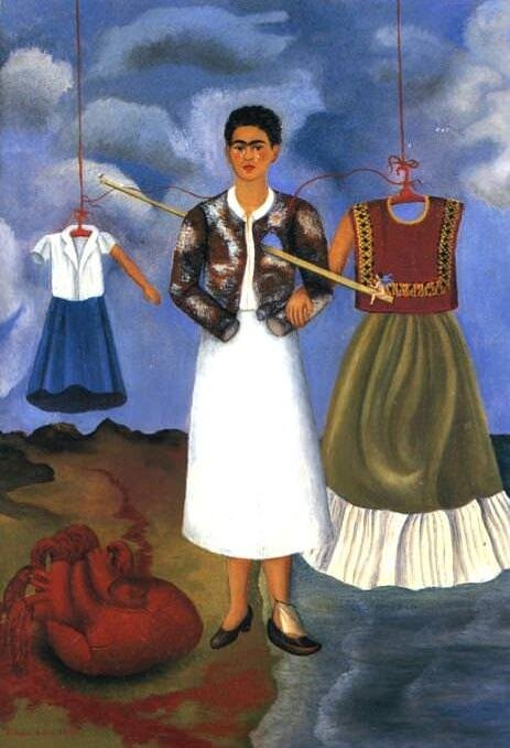 Memory, the Heart (1937) by Frida Kahlo