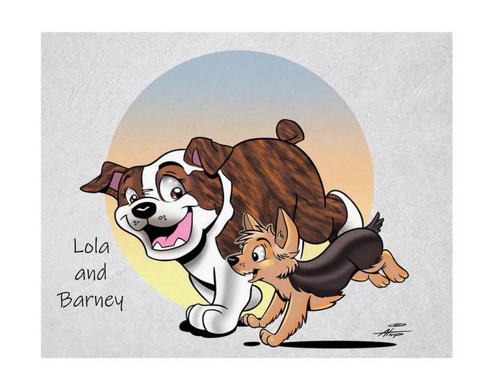 Lola and Barney