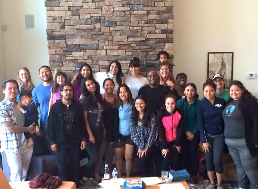 J4R leaders at a planning retreat in Lake Arrowhead, California.