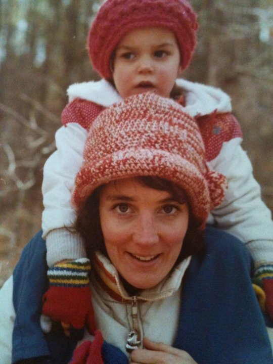 Here is baby Dr. Tablak with her mom Linda back in the day!