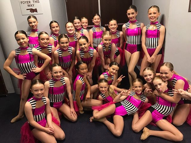 Fun backstage with DNA @dancenorthacademy