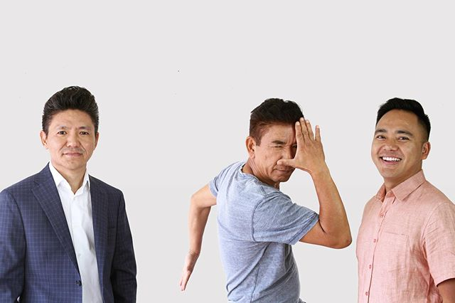 📸 DIY PHOTO SESSION   Tried taking some Serious Portfolio Shots while my folks were in town and this Happened. 👨👦👦 #photography #homestudio