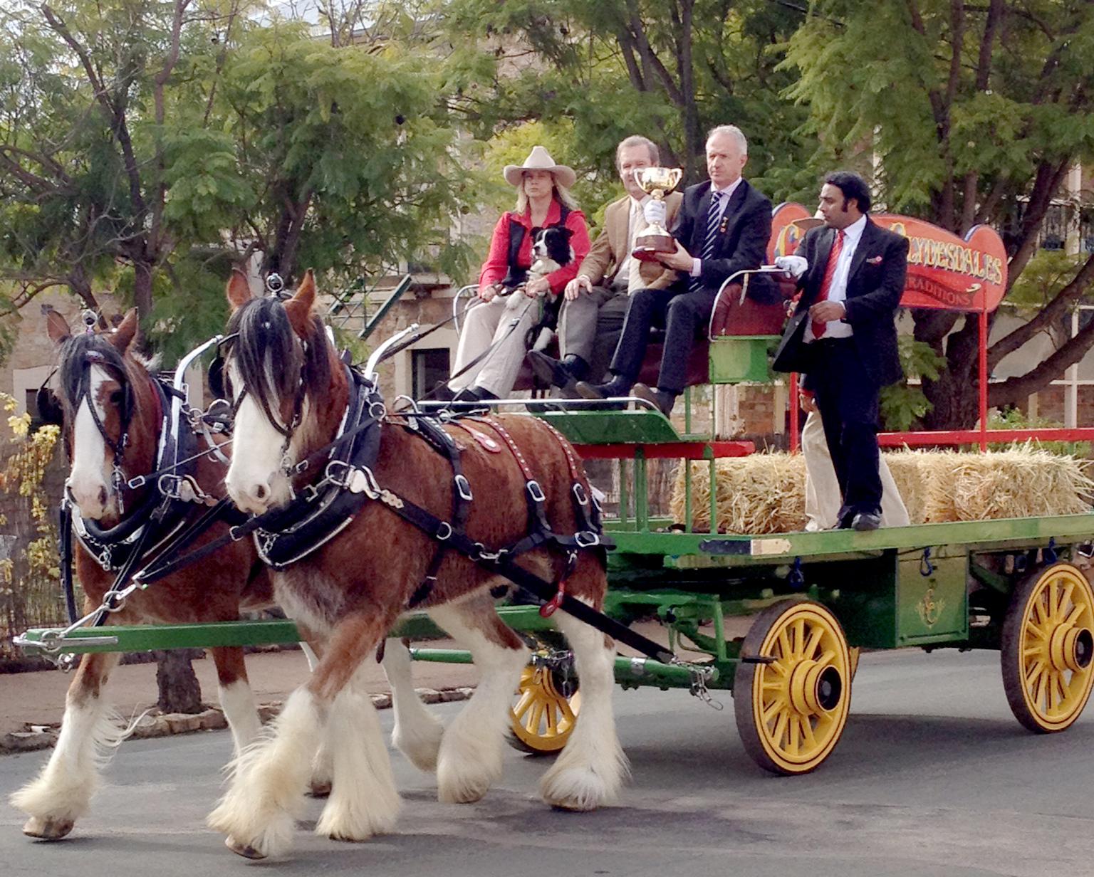 Melbourne Cup Parade York - Parades cropped.JPG