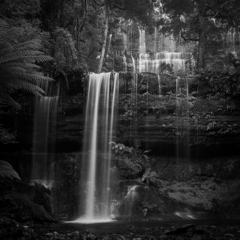 """""""Russell Falls""""    Tasmania, Australia"""