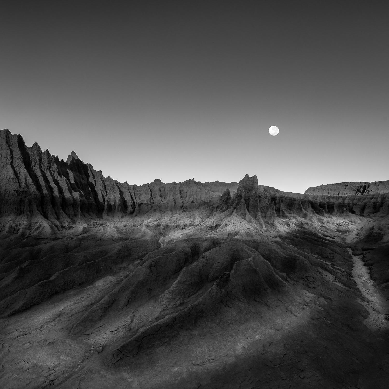 """Moonrise over Mungo""    Mungo National Park, Australia"