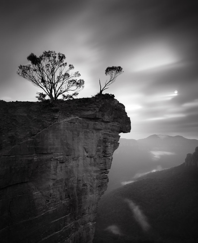 """""""Sunrise at Hanging Rock""""    Blue Mountains, Sydney, Australia"""