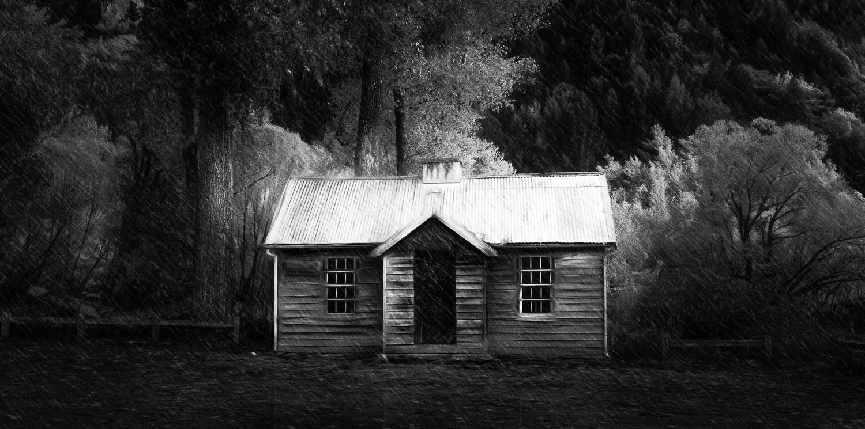 """Dark House, Arrowtown""    Arrowtown, New Zealand"