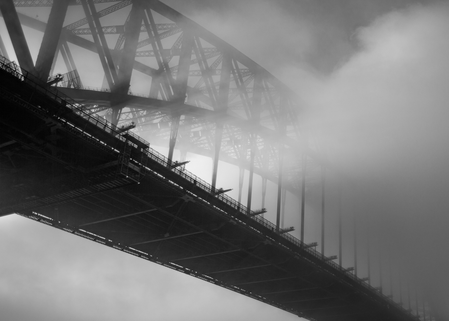 """Once a year""    Sydney Harbour Bridge, Australia ."