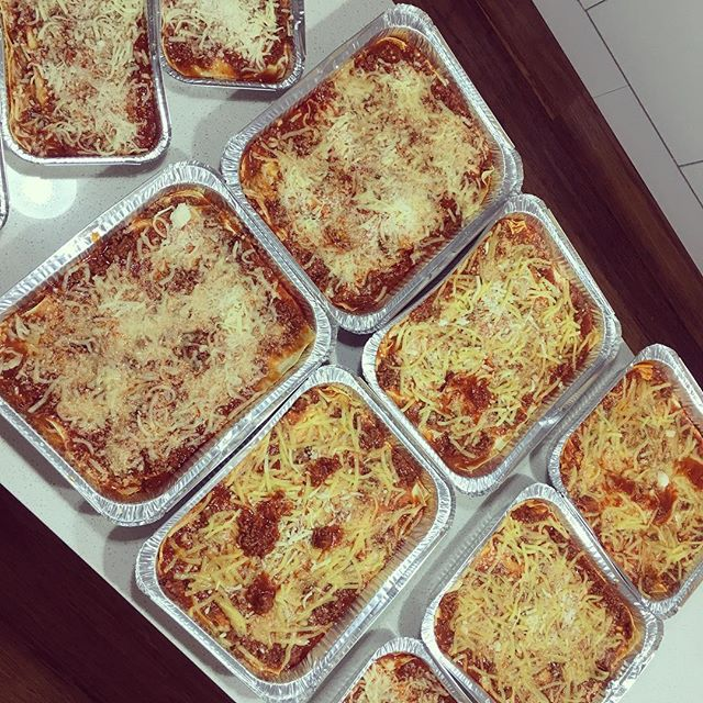 Yummm fresh batch of lasagne just done... order yours now #lasagne #nocooking #fresh #pasta #readytoeat