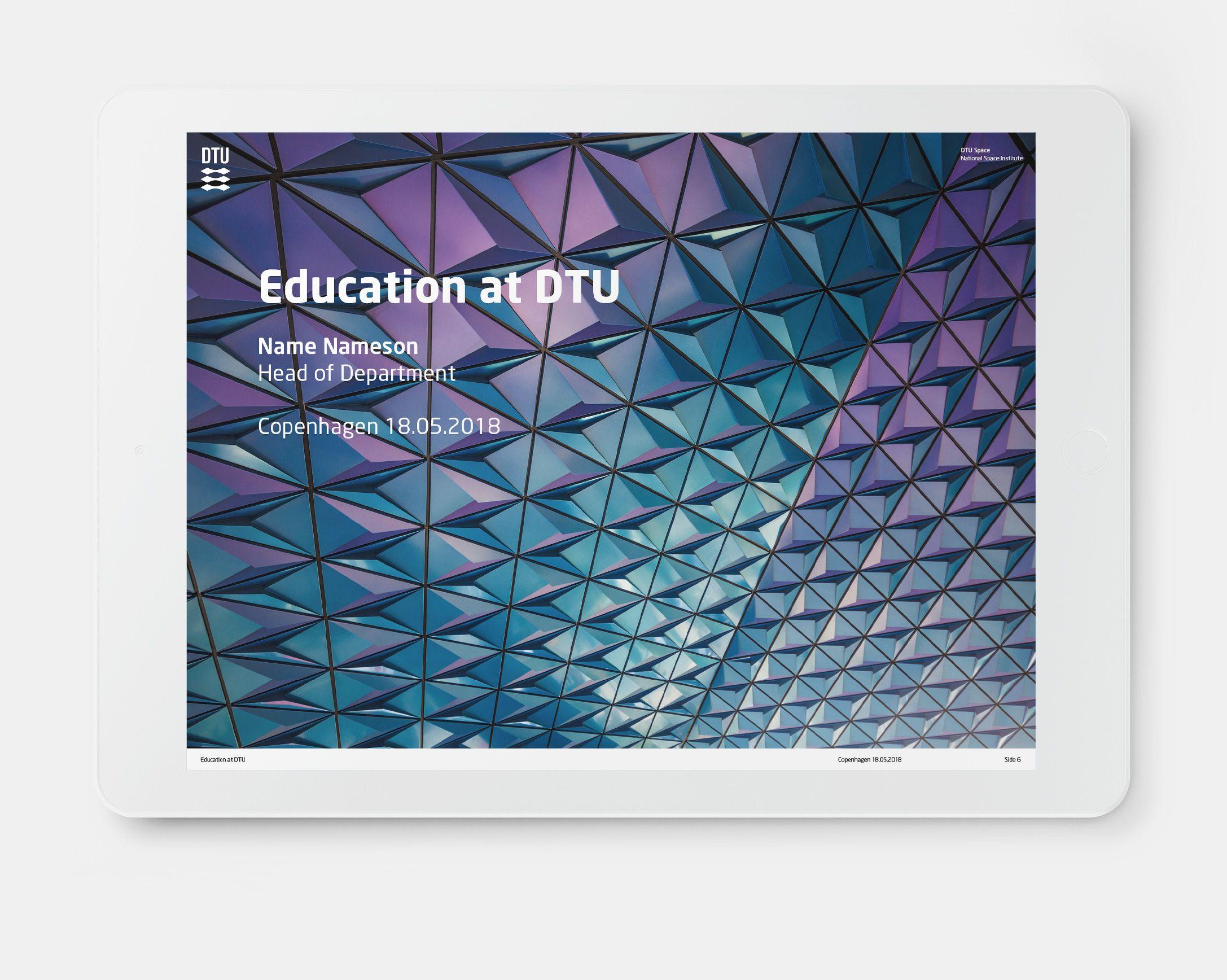 Dtu Design Guide Standard User Brand Assets Dtu Design Guide