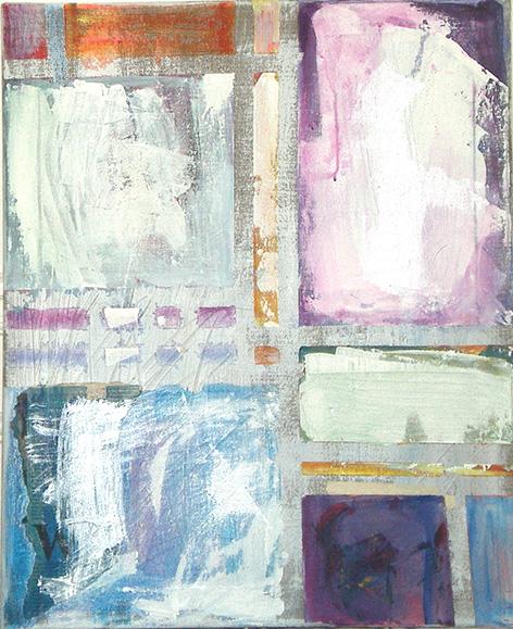 Calmness_  Acrylic on canvas (50x61 cm)
