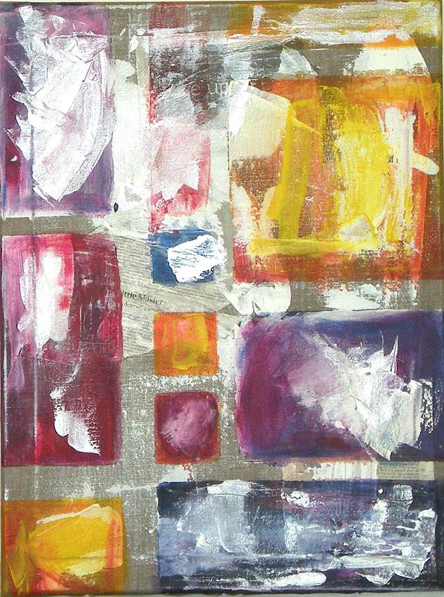 Celebration _ Acrylic on canvas (46x61 cm)