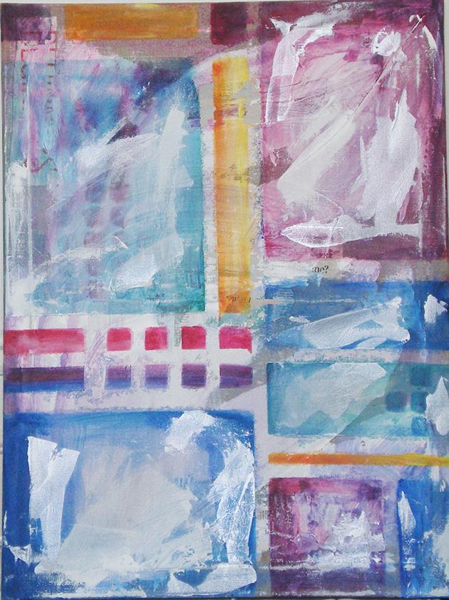 Dreams_ Acrylic on canvas (46x61 cm)