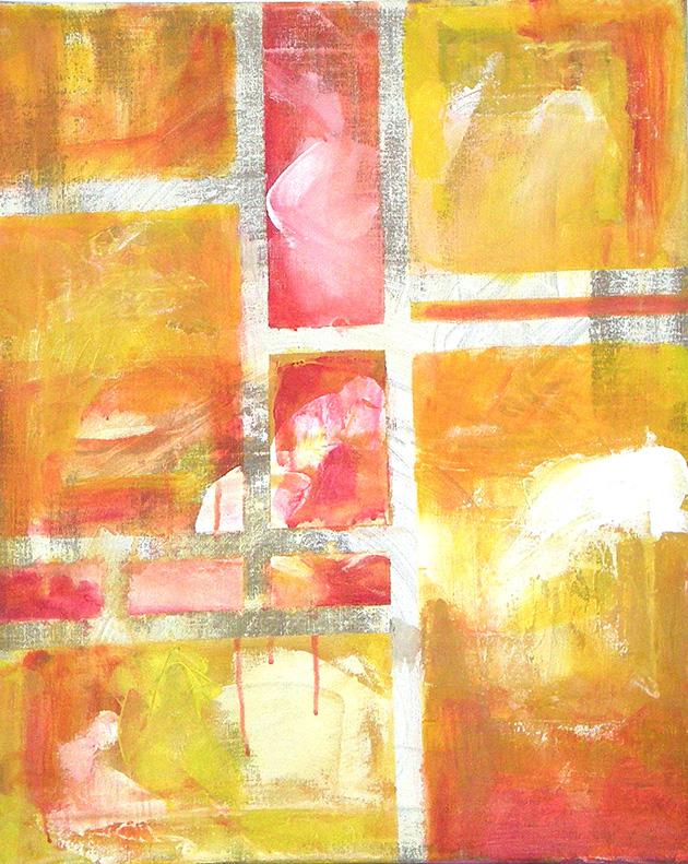 Energy_ Acrylic on canvas (50x61 cm)