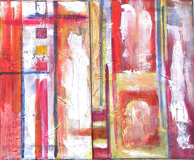 Passion_ _Acrylic on canvas (24x41 cm)/(27x41 cm)